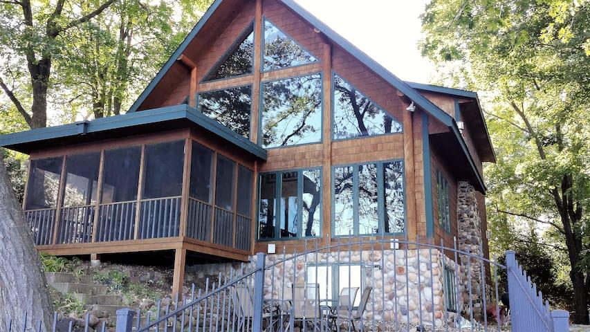 Lake Sylvia Lodge - เซาธ์ฮาเวน - กระท่อม