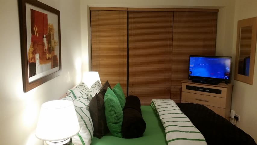 En suite Room with TV.