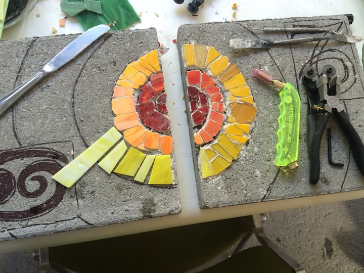 Beginnings of two stepping stones