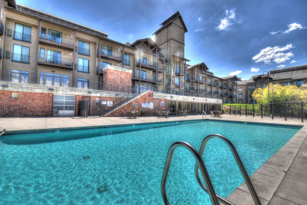 Stillwater Lodge Pool - open in Summer ONLY!