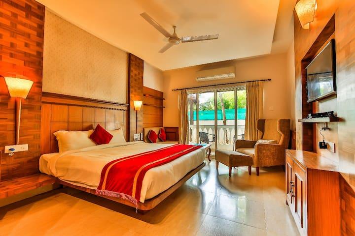 Beautiful and Classy AC rooms near Baga Beach