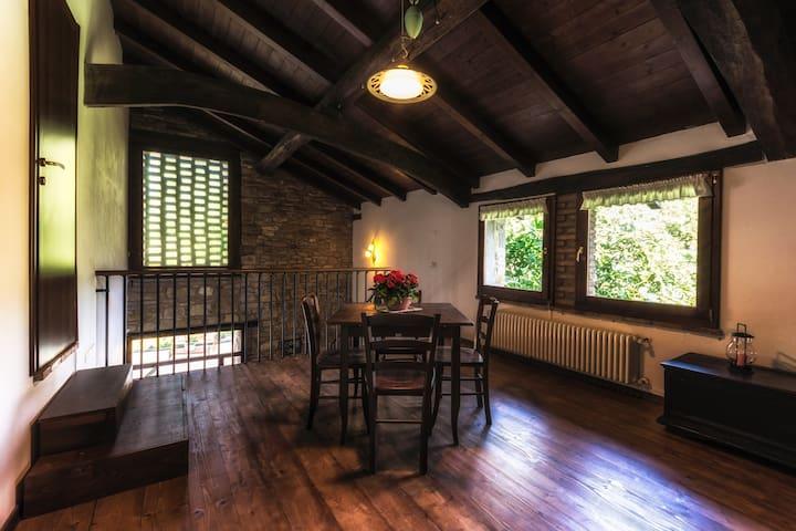 Stupendo appartamento nella natura - San Benedetto Val di Sambro