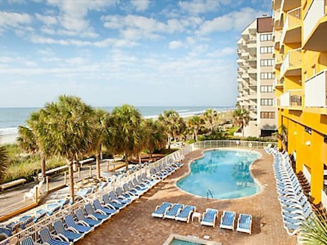 DISCOUNTED SPRINGBREAK 2 BDR OCEANFRONT