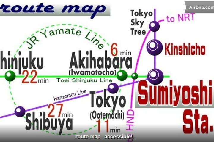 30sec Sta.nearSUMO AKB Shinjuku AB