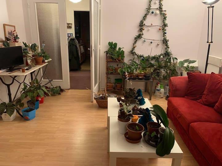 Appartement chaleureux proche de Paris