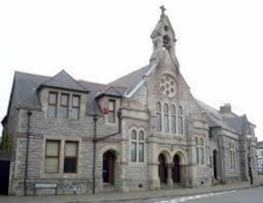St Joseph's - a converted school  built in 1885