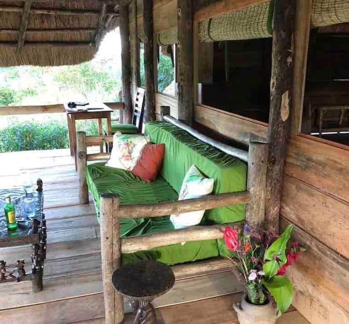 Chameleon Cottage, SunbirdHill, Kibale Forest edge