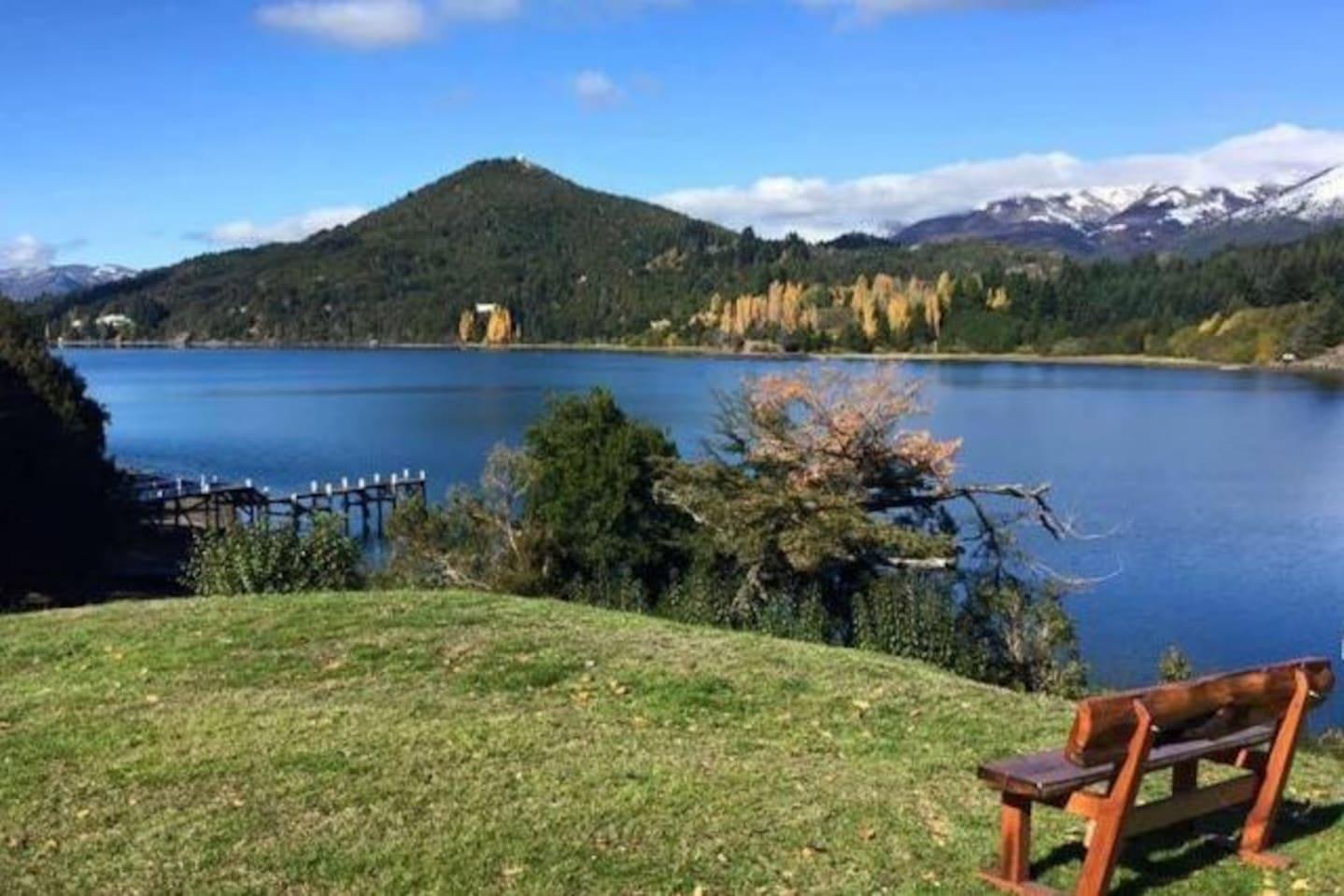 Despertarse todos los dias viendo al lago!