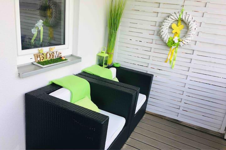 STUDIO Apartment 2+1 WLAN+Parkplatz+Balkon+Aufzug