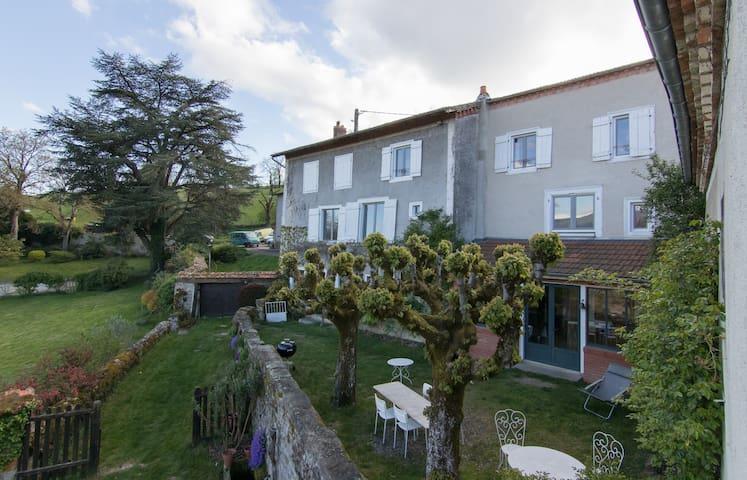 La Boissière, jolie propriété avec piscine. - Ambert - Dům