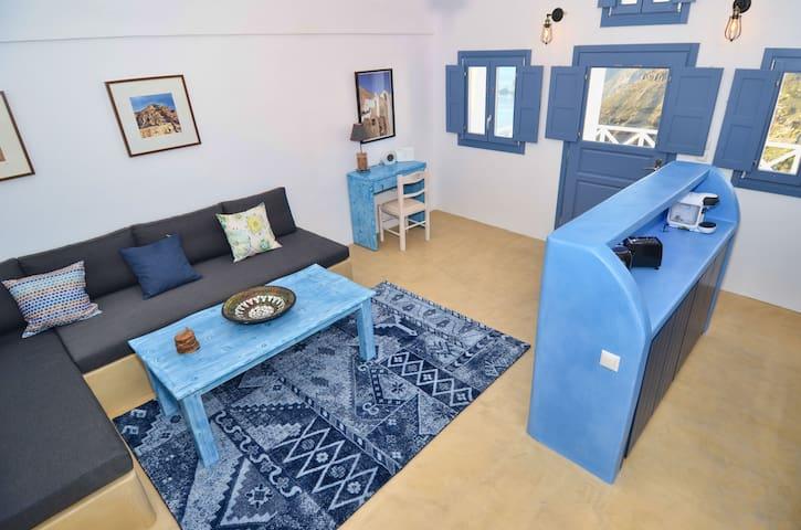 Fira Blue House