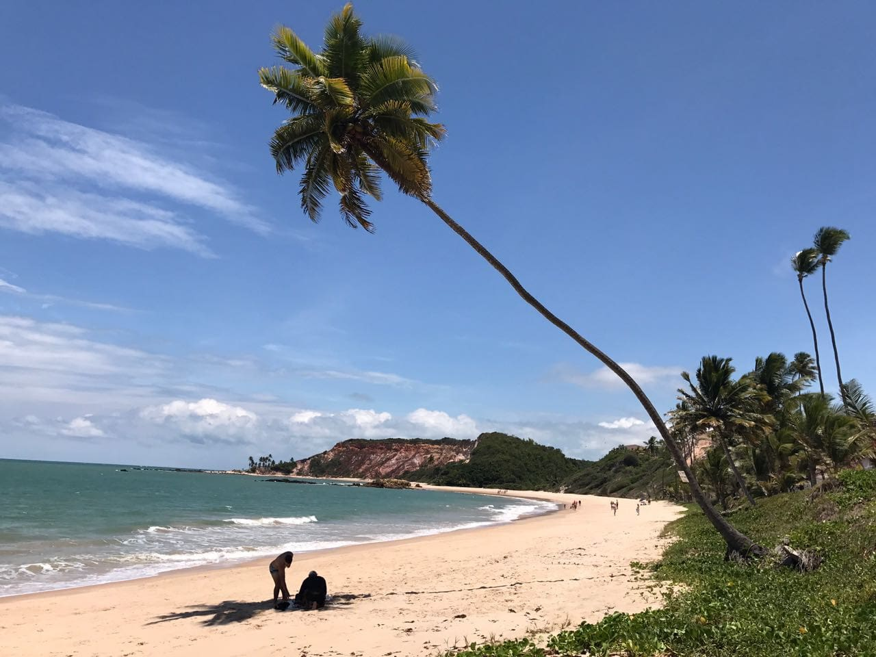 Praia de Tabatinga.