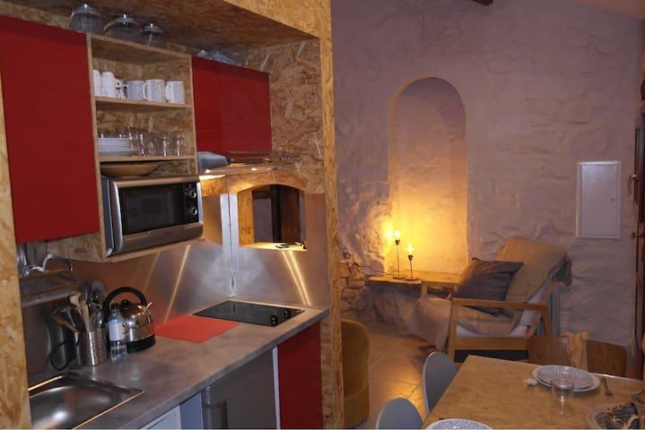 Ancien moulin à huile à Ocana, Corse