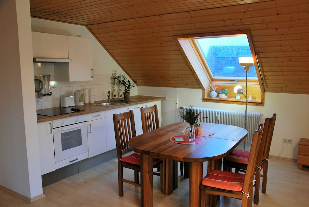 sonnige gem tliche ferienwohnung mit balkon wohnungen zur miete in w rzburg bayern deutschland. Black Bedroom Furniture Sets. Home Design Ideas