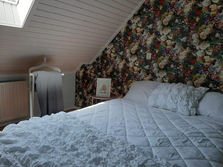 Bloemkamer in een landelijke omgeving en Efteling
