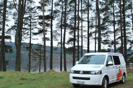 Taffi Campers - VW T5 campervan - Pontypridd - Kamp Karavanı/Karavan