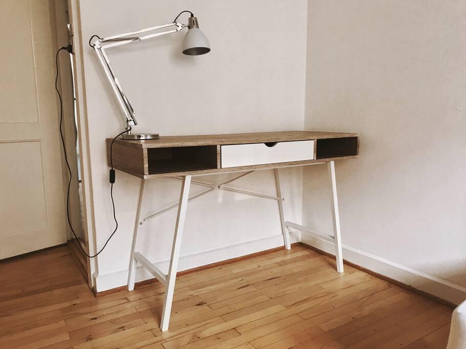 New desk, 2017