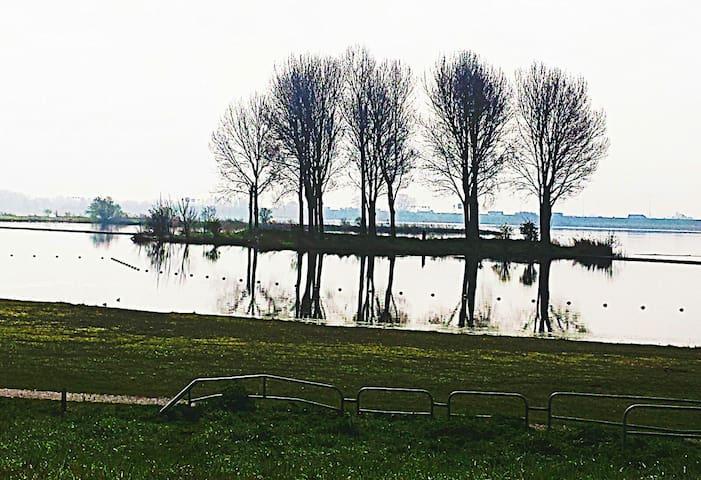 Ouderkerkrerplas - a lake (5 min. walking)