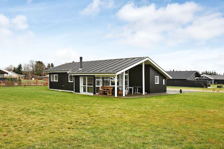 Modern Holiday Home in Hadsund with Sauna