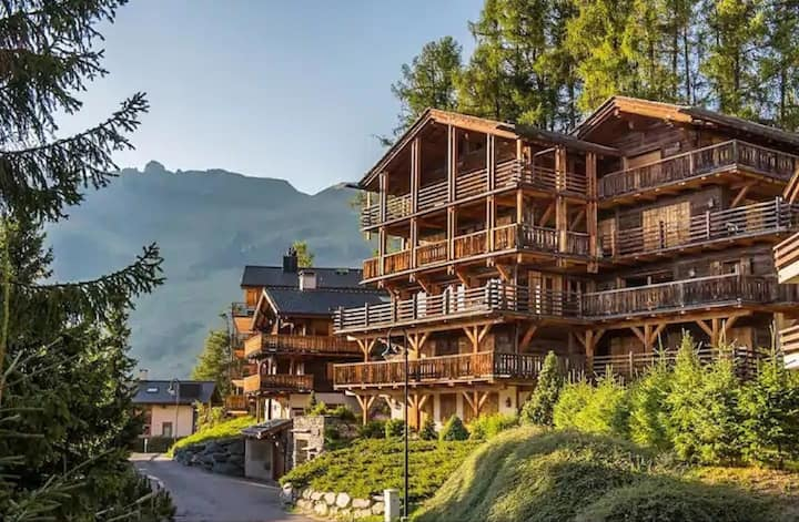 Traditional alpine materials are sensitively
