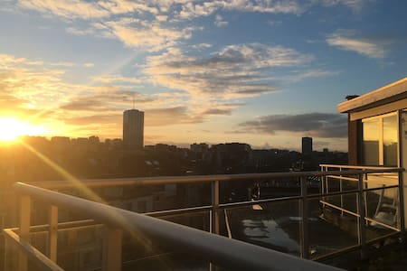Bright Penthouse, 5min from Flagey - Ixelles - Apartment