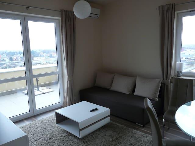 Mieszkanie na 7 pietrze z tarasem - Rzeszów - Apartment