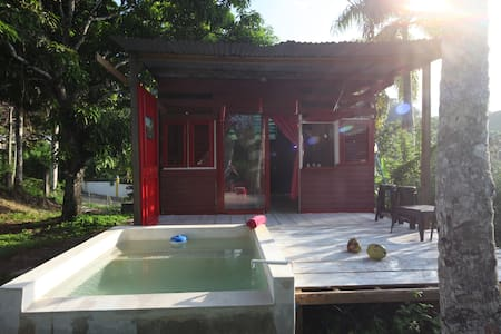 Lodge dans Jardin tropical avec piscine privee - Las Terrenas