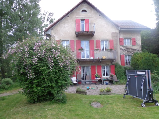 Quiet rooms in a friendly village - Cossonay - Leilighet
