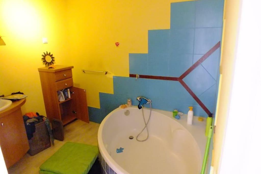 Salle de bain mezzanine+wc
