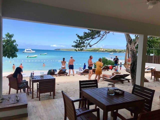 Our beach club, Blue Island Punta Rucia