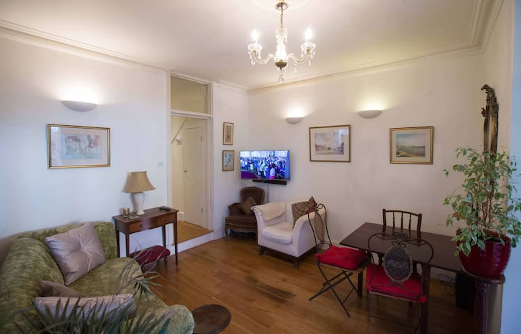 Two double-bedroom ground floor garden flat