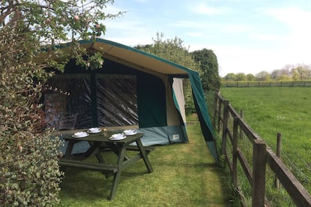 Large, spacious luxury trailer tent - Whittlebury - テント