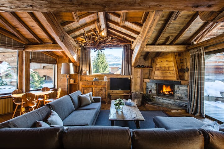 Luxury Chalet Anchorage: your home in the Alps