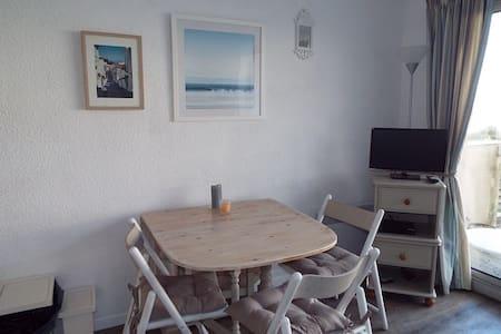 joli studio de centre-ville à 200m des plages - Neufchâtel-Hardelot - 公寓