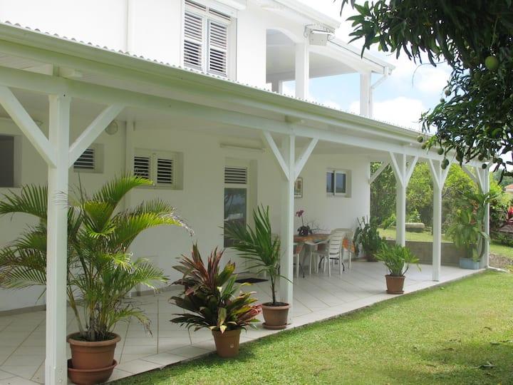 Location de vacances à la campagne, en Martinique