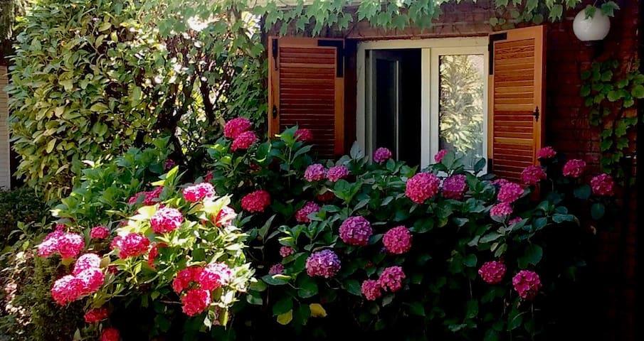 Precioso chalet ideal para eventos familiares - Becerril de la Sierra - 牧人小屋