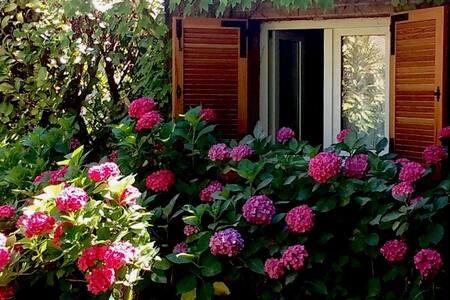 Precioso chalet ideal para encuentros familiares - Becerril de la Sierra - Lomamökki