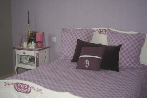 Beautiful bedrooms in a typical village