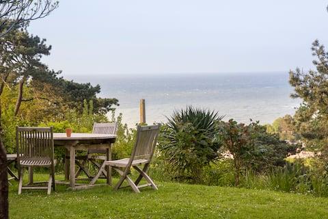 Splendid Sea View, Charming Boiler, Normandy/ Etretat.