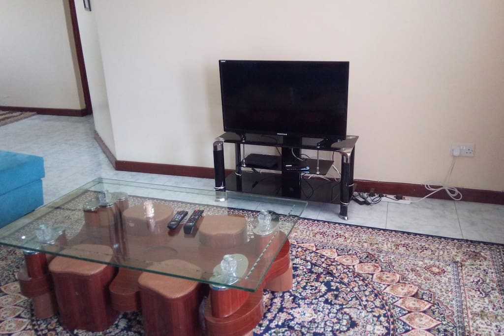 Cable TV in the living room