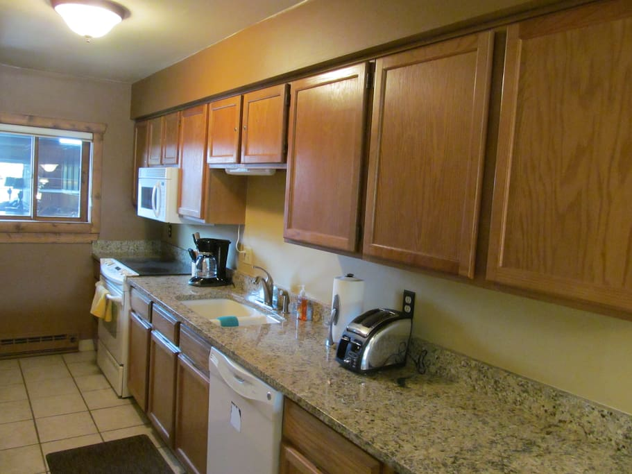 Updated Kitchen-Granite counter tops