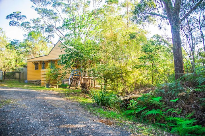 Your approach to Billabong Cottage