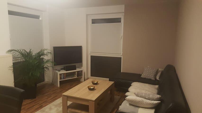 70m2 Wohnung für 2 Personen an Wochenenden frei - Vechta - Appartement