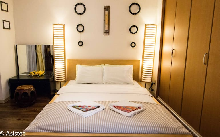 Tokyo Cozy and Tranquil room for group of 5! - Shinagawa - Byt