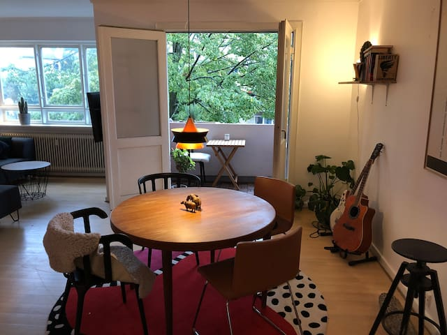 Spacious nice apartment in Copenhagen