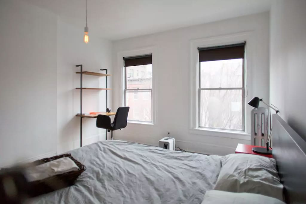 Bedroom, with desk