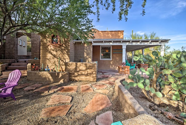 'Esperanza' - Quaint Tucson Home w/Hot Tub & Patio