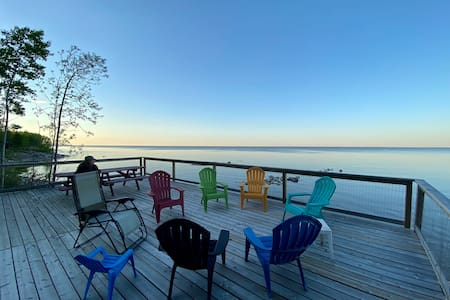 Traverse Bay Cabin with a View