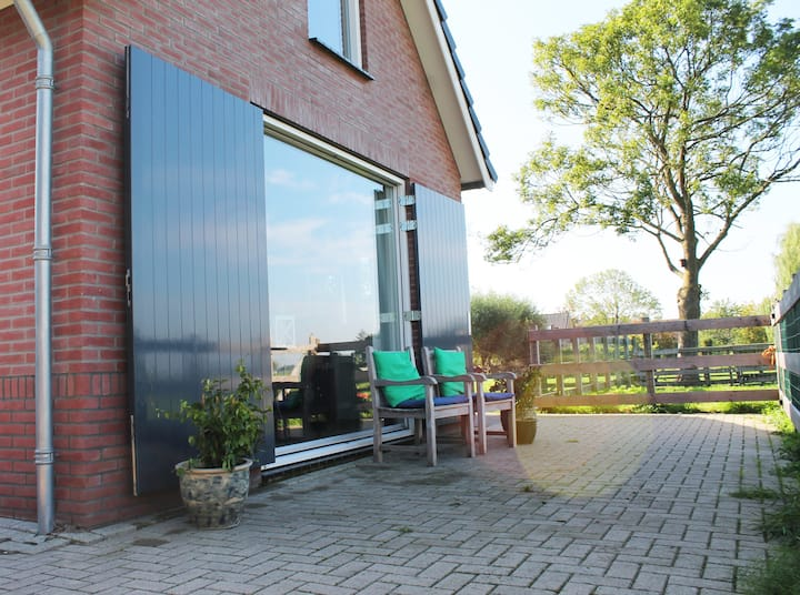 Gasthuis, uniek polderzicht Stolwijk bij Gouda