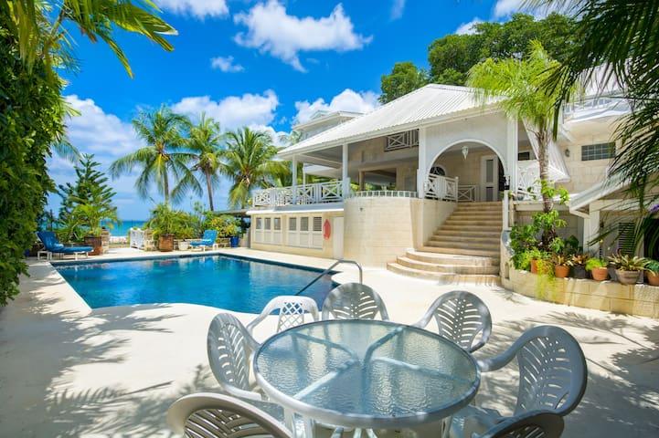 Barbados Beachfront 3-bedroom Home.